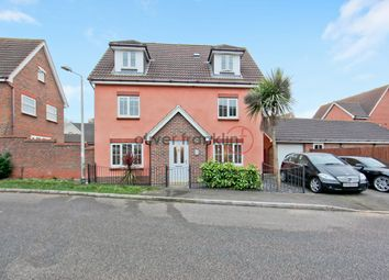 Thumbnail 5 bedroom detached house for sale in Carew Close, Chafford Hundred