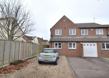 Thumbnail 3 bed semi-detached house for sale in Pendock Close, Quedgeley