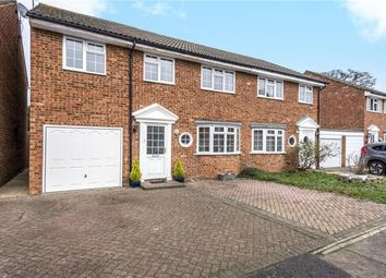 Thumbnail 4 bed semi-detached house for sale in Lucan Drive, Staines-Upon-Thames, Surrey