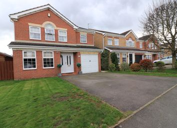 Thumbnail 4 bedroom detached house for sale in Trent Holme Drive, Messingham, Scunthorpe