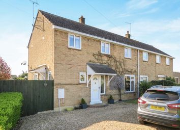 Thumbnail 3 bed semi-detached house for sale in Thorolds Way, Castor, Peterborough