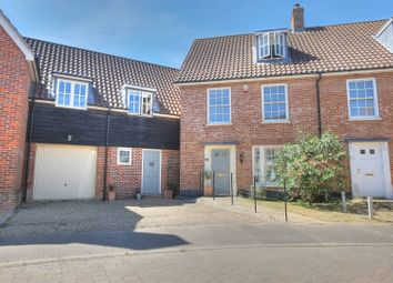 Thumbnail 4 bed town house for sale in Bromedale Avenue, Norwich