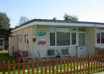 Thumbnail 2 bed property for sale in 16 Clear Springs Chalet Park, Low Road, Dovercourt, Essex