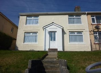 Thumbnail 3 bed terraced house to rent in Heol Pantyrawel, Ogmore Vale, Bridgend
