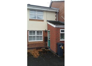 Thumbnail 2 bed town house for sale in 24 Pinehurst Close, Kirby Frith, Leicester, Leicestershire
