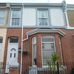 Thumbnail 3 bed terraced house to rent in Hingston Road, Torquay