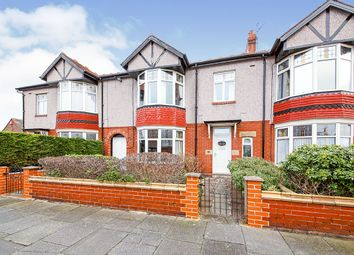 Thumbnail 5 bed terraced house for sale in Claremont Gardens, Whitley Bay, Tyne And Wear