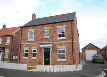 Thumbnail 4 bed detached house for sale in Bedale Rose Avenue, Leeming Bar, Northallerton