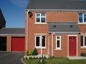 Thumbnail 2 bed semi-detached house to rent in Redwood Close, Darlington
