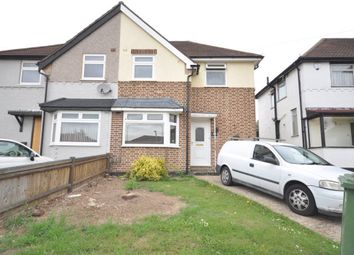Thumbnail 3 bed flat to rent in Harold Court Road, Harold Wood, Romford
