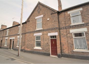 Thumbnail 3 bed terraced house to rent in Grange Street, Burton-On-Trent
