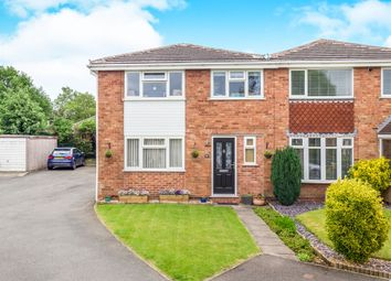 Thumbnail 3 bed town house for sale in Ferrers Close, Castle Donington, Derby