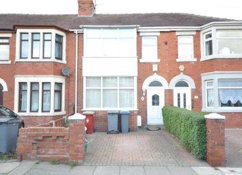 Thumbnail 3 bedroom terraced house for sale in Senior Avenue, Blackpool