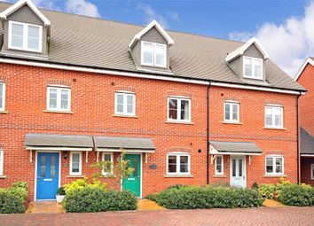 Thumbnail 4 bed terraced house for sale in Vincent Gardens, Dorking, Surrey