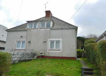 Thumbnail 2 bedroom semi-detached house for sale in Gwynedd Avenue, Townhill, Swansea