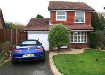 Thumbnail 3 bed detached house to rent in Kempshott, Basingstoke, Hampshire