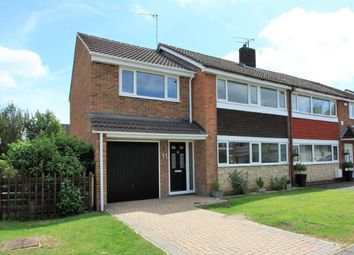 Thumbnail 4 bed semi-detached house for sale in Pipitdene, Covingham, Swindon
