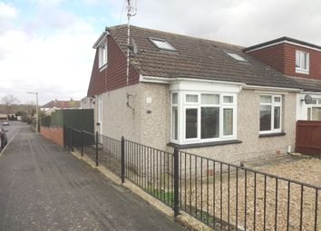 Thumbnail 3 bed semi-detached bungalow to rent in Lansdowne Avenue, Waterlooville, Hampshire