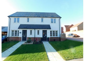 Thumbnail 3 bed semi-detached house for sale in Red Clover Close, Pevensey