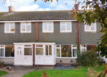 Thumbnail 3 bed terraced house for sale in Binsted Close, Rustington, Littlehampton