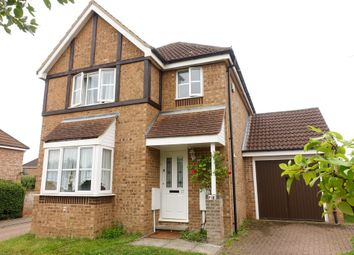 Thumbnail 3 bed detached house to rent in Highveer Croft, Tattenhoe, Milton Keynes