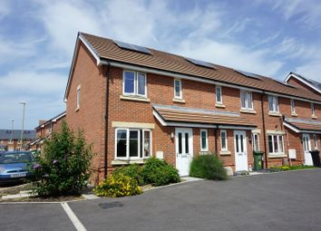Thumbnail 3 bed end terrace house for sale in Merz Close, Portsmouth