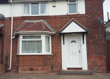 Thumbnail 3 bed semi-detached house to rent in Wellington Road, Perry Barr