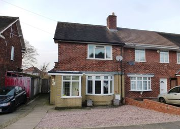 Thumbnail 2 bed end terrace house for sale in Milstead Road, Kitts Green, Birmingham