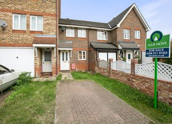 Thumbnail 2 bed terraced house for sale in Sunningdale Close, North Thamesmead, London