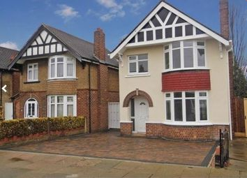 Thumbnail 3 bed detached house for sale in Rockley Road, Leicester