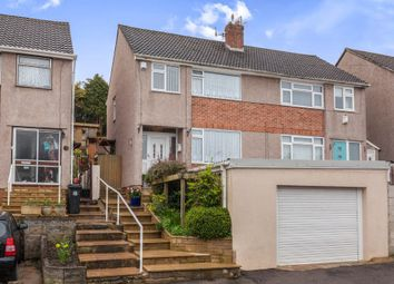 Thumbnail 3 bedroom semi-detached house for sale in Crantock Avenue, Headley Park, Bristol