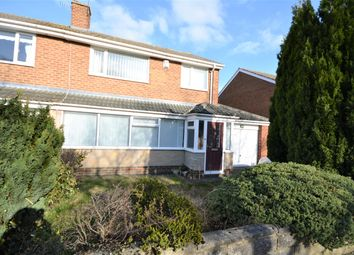 Thumbnail 3 bed semi-detached house for sale in Carlisle Grove, Bishop Auckland