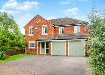 Thumbnail 5 bed detached house for sale in St. Mellion Drive, Grantham