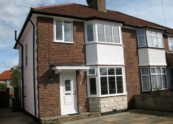 Thumbnail 4 bedroom semi-detached house to rent in Oakwood Drive, Edgware, Middlesex