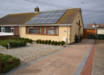 Thumbnail 2 bed semi-detached bungalow for sale in Derville Road, Greatstone, Kent