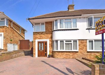 Thumbnail 3 bed semi-detached house for sale in Lingley Drive, Wainscott, Rochester, Kent