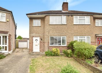 Thumbnail 2 bed semi-detached house for sale in Parkfield Crescent, South Ruislip, Middlesex