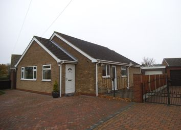 Thumbnail 3 bed bungalow for sale in Dorset Close East, Burton-Upon-Stather, Scunthorpe