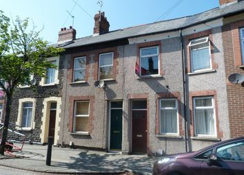 Thumbnail 4 bed flat to rent in Cyfarthfa Street, Roath, Cardiff