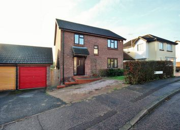 Thumbnail 4 bedroom detached house for sale in Egret Crescent, Colchester, Essex