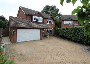Thumbnail 4 bed detached house to rent in Blaizefield Close, Woore, Crewe
