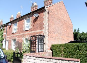 Thumbnail 2 bed end terrace house to rent in Fairfield Road, Saxmundham, Suffolk