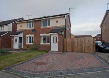 Thumbnail 2 bed semi-detached house for sale in 10 Gambeson Crescent, Stirling, Stirlingshire 7Xg, UK