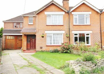 Thumbnail 4 bed semi-detached house for sale in Longmead Avenue, Bishopstoke, Eastleigh
