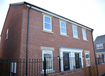 Thumbnail 2 bed semi-detached house for sale in Hunters Walk, Lime Tree Park, Saltergate