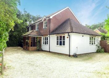 Thumbnail 4 bed detached house for sale in Burdenshot Road, Worplesdon, Guildford