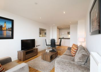 Thumbnail 2 bed flat to rent in Admirals Tower, 8 Dowells Street, New Capital Quay, London, London