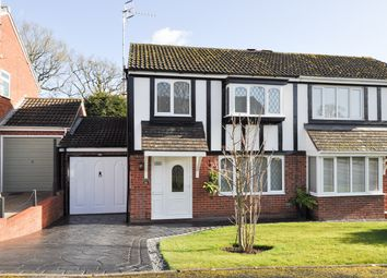Thumbnail 3 bed semi-detached house for sale in Redstone Close, Church Hill North, Redditch