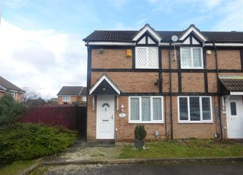 Thumbnail 2 bedroom end terrace house for sale in Swan Mead, Luton