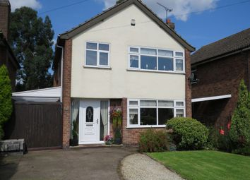 Thumbnail 3 bed detached house for sale in Manor Crescent, Stapleton, Leicester